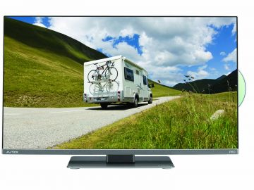 """Avtex Series9 24""""  L249DRS PRO HD LED TV for Travel Use 12/240v with Built in Easyfind DVB-S2 and DVB-T2 Freeview/Satellite/DVD/Record"""