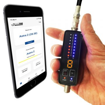Easyfind Bluetooth Smartmeter (with app for your mobile phone)