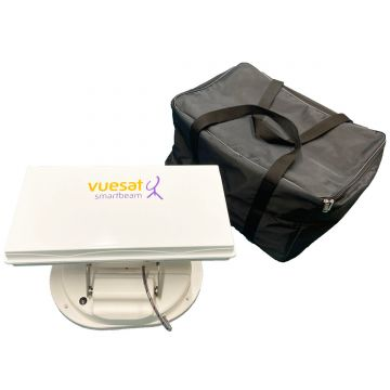Vuesat Smartbeam Plus Automatic Satellite Dish System with Mobile Phone Control and 'in app' Live TV Viewing - plus optional additional Wifi Booster