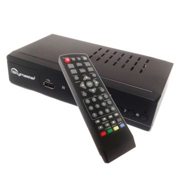 EASYFIND Micro M310plus HD Portable Satellite Receiver 12/240v with HDMI and Scart Preset with UK Freesat Channels