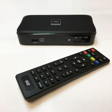 Opticum Red HD Portable Satellite Receiver with HDMI and Scart plus 12/240v option Preset with UK Freesat Channels