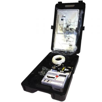 Satgear FLATDISH Premium Portable High Definition Suitcase Kit with Easyfind System for use with AVTEX TV's.