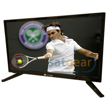 "Opticum LED 24"" 12/240V Volt HD TV with built-in Satellite and Terrestrial receiver WITH EASYFIND"